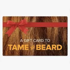 gift card company printable beard company gift card