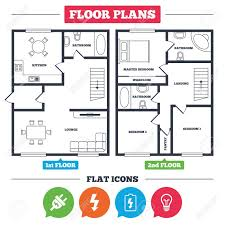architectural electrical symbols for floor plans architecture plan with furniture house floor plan electric