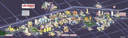Las Vegas Fremont Street Map by Large Detailed Las Vegas City Tourist Map Vidiani Com Maps Of
