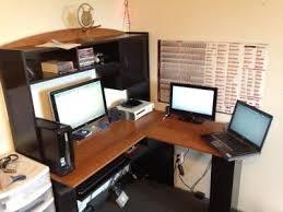 L Shaped Desk With Hutch Walmart Mainstays L Shaped Desk With Hutch Finishes Office