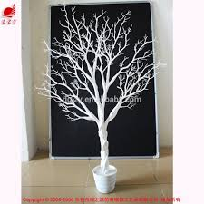 White Decorative Branches White Branch Christmas Tree Christmas Lights Decoration
