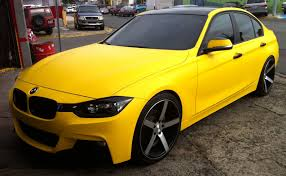 Bmw M3 Yellow 2016 - pineapple yellow puerto rico by aros y gomas inc customer