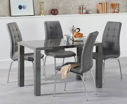 Gloss Dining Tables Dining Table Grey Patio Dining Table Grey Oak Dining Table And
