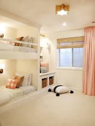the reveal a shared girls u0027 room complete with built in bunks