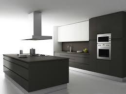 ilot central dans cuisine hotte d corative design comme un point focal dans la cuisine de pour