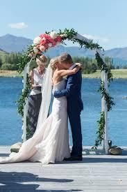 wedding arch hire queenstown white wooden arch queenstown wedding hire