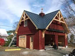 Post And Beam Barn Kit Prices Post And Beam Garages Carriage Sheds Post And Beam Garages