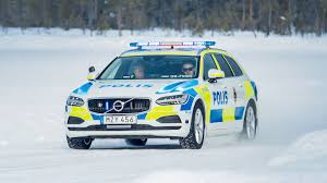 police car exclusive we drive a volvo v90 police car motoring research