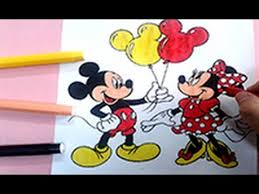 disney coloring pages color mickey mouse minnie mouse
