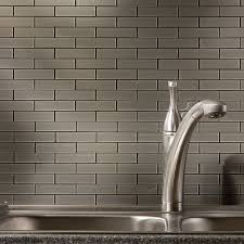Peel And Stick Kitchen Backsplash Tiles by Interior Peel And Stick Backsplash Ideas For Kitchen Stainless