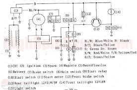 110cc chopper wiring diagram 110cc electric start wiring diagram