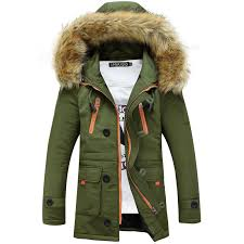 Green Parka Jacket Mens Compare Prices On Green Parka Men Online Shopping Buy Low Price