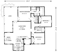 Modern Three Bedroom House Plans - modern 3 bedroom house floor plan for bedroom shoise com