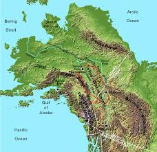 Map Of Alaska And Canada by Apatite Fission Track Evidence For Regional Exhumation In The