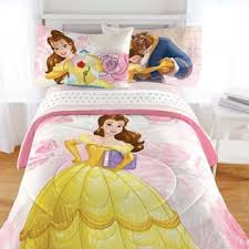 Disney Bed Sets Disney Beauty And The Beast Bedding Set Enchanted Belle Comforter
