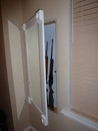 in wall gun cabinet hidden in wall gun cabinet with hidden keypad