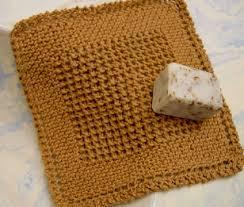 diagonal knit dishcloth knitting bee