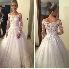 wedding dress a line the shoulder sleeve 2016 wedding dress a line lace bridal