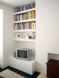 White Low Bookcase by Proline