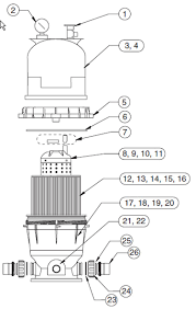 pool supply unlimited pentair clean u0026 clear cartridge filter