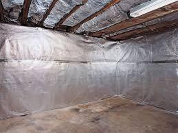 thermaldry basement radiant wall barrier vapor barrier system in