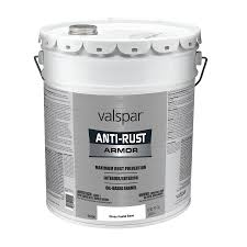 shop valspar anti rust armor white gloss oil based enamel interior
