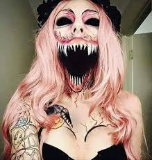 Scary Costumes For Halloween Woman Got Back At All Her Exes With This U0027scary U0027 Costume But It