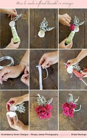 wrist corsage ideas how to make a floral bracelet wrist corsage