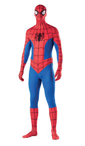 skin suits halloween spiderman second skin voor volwassenen dit second skin