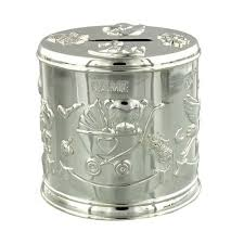 silver piggy bank for baby 32 best money box piggy bank images on piggy banks