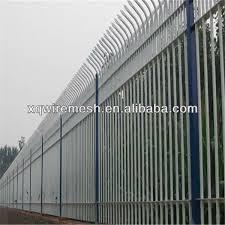 sale decorative wall fence ornamental steel picket fence
