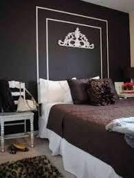 Faux Headboard Ideas by How To Paint A Headboard On The Wall Moldings Walls And Bedrooms