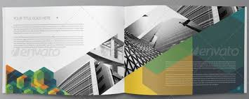 pop up brochure template creative brochure design geometric shapes and more entheos