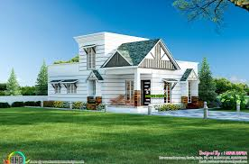 marvelous small colonial style house architecture kerala home