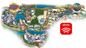 Universal Orlando Park Map by Xfinity Wifi Makes Theme Park Experience Even Better