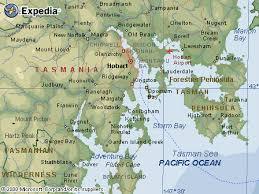 map of tasmania australia australia road maps tas hobart region map