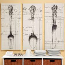 spoon knife fork document canvas print looove these future