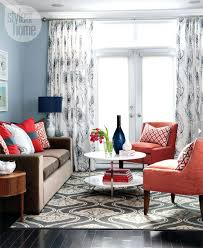 Living Room With Red Sofa by 30 Best Accent Colors For My Brown Couch Images On Pinterest