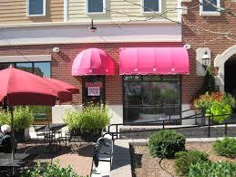 Fabric Awnings Pink Storefront Awnings Kreider U0027s Canvas Service Inc