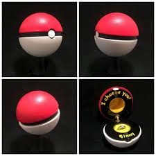 pokeball engagement ring personalized custom engagement ring boxes paul pape designs