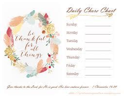 thanksgiving theme printable chore chart with thanksgiving theme pinterest inspiration