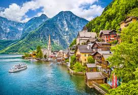 most beautiful landscapes in europe hallstatt copyright