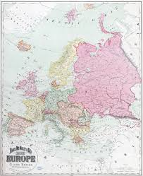 Old Map Of Europe by Map Of Europe With Cities World Map