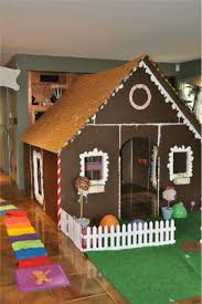 pvc gingerbread playhouse for a candyland themed formufit