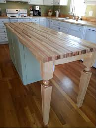hard maple island leg a perfect fit for kitchen design osborne