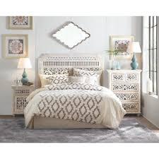 White Bedroom Chest - home decorators collection maharaja 5 drawer sandblast white chest
