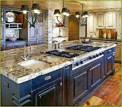 kitchen room lovely island stove top contemporary kitchen with 3