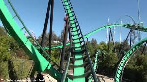 Six Flags Magic Mountain Riddlers Revenge Hd Pov Six Flags Magic Mountain Youtube