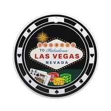 las vegas chip design ornament by pokerchaos