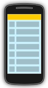 layout template listview using lists in android wth listview tutorial